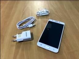 "Smartphone Samsung Galaxy J7 Prime Dual Chip Android Tela 5.5"" 32GB 4G Câmera 13MP - Doura"