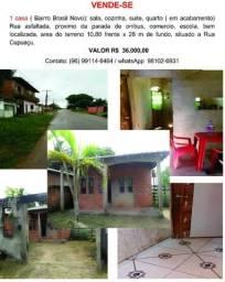 Casa Brasil Novo vendo