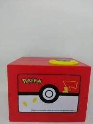 Cofre Pokémon Pikachu - Automático com música