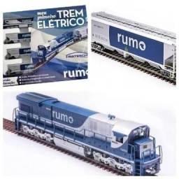 Trem elétrico rumo