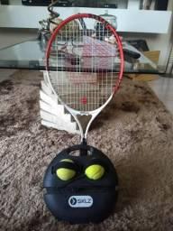 Raquete Federer 25 + Powerbase SKLZ