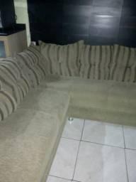 Vendo um lindo sofá de canto bem inteiro novo