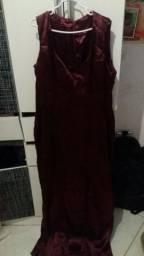 Vestido Borgonha