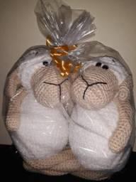 Ovelhinhas de crochê