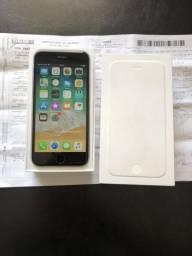 IPhone 6 Space Gray 64 Gigas completo com nota fiscal divido no cartão até 12x