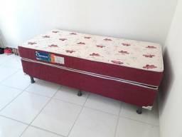 Cama box solteiro d26 (colchão+box)