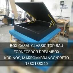 Box baú casal Paoliana _ várias cores