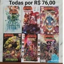 Coleção de revistas em quadrinhos da Marvel