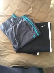 Nike and adidas calças originais