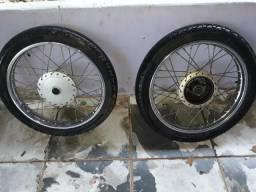 Vendo rodas da fan 125 i .350$