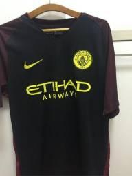 c96a257f9b Camisa Manchester City Preta Original - Tamanho M