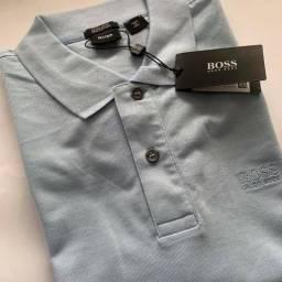 Camisa Polo Hugo Boss Original Várias Cores 1cfe6224630e9