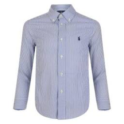 Camisa Social Polo Ralph Lauren Original Eua Várias Cores c3599d53a21b9