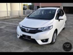 Honda Fit LX 1.5 aut. 2017 *top*couro*financio 100% sem entrada*preço de ocasião*lindo - 2017