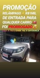 Super SHOWROOM!! R$1MIL DE ENTRADA(SANDERO STEPWAY 1.6 2012)