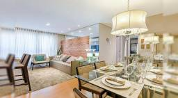 Apartamento com 2 dormitórios à venda, 56 m² por r$ 392.196,00 - santo inácio - curitiba/p