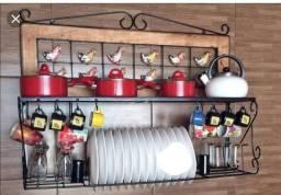 Móvel decorativo para utensílios de cozinha