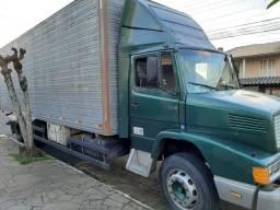 Caminhão Mercedes Benz 1418 Baú - 1991