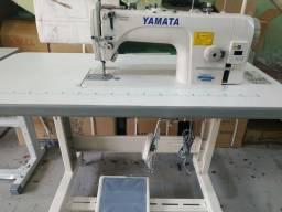 Máquina de costura industrial reta eletrônica direct drive Yamata