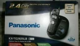 Telefone Sem fio 2.4Ghz Digital/Panasonic c/identificação chamadas Lacrado