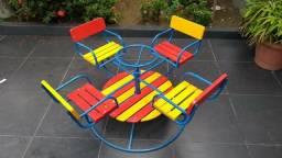 Parque Infantil,Cadeiras,Bancos