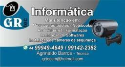 Assistência técnica informática e CFTV