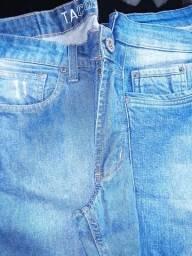 Vendo duas calças jeans. masculina