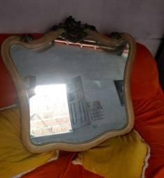 Espelho em madeira,de lei antigo 80/60
