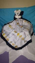 Naninha + cobertor+ toalha
