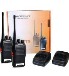 Rádio transmissor completo marca baofeng r$ 270 entrego