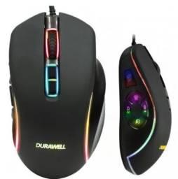 Mouse Gamer Top com 10 Botões e 4 velocidades de DPI