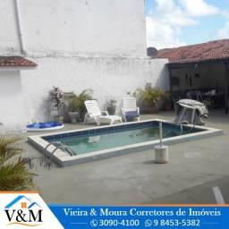 Ref. 485. Casa a 200m da praia com piscina, 06 quartos, 05 WC's