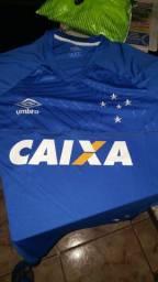 Camisa Cruzeiro 2018, s/n, jogador.