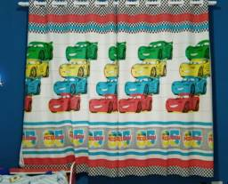 Cortinas Infantil/Amarela