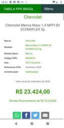 Meriva Preta Ex Táxi - R$ 13.000,00