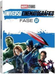 Box Bluray - Marvel Studios Universo Cinematográfico Fase 2