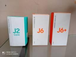 Caixa de celular J2 core , J6 e J6 plus.