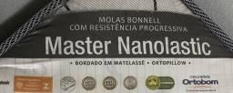 Cama solteiro (Colchão Master Nanolastic + box)