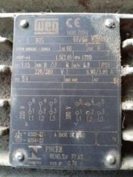 Motores elétricos de 2 vc trifásico