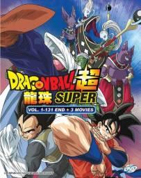 DVD Dragon Ball Super - Dual Audio + Legendas (12 Discos) 131 EP