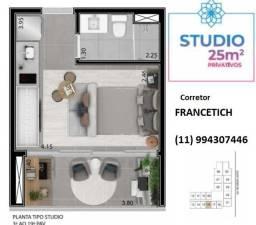 Studio de 25 M2 ao Metrô Chacara Klabin - Francetich *