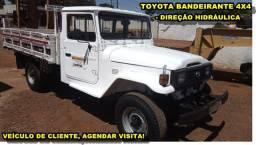 Toyota Bandeirante Dir. Hidráulica Picape 4x4 Diesel (n Troller Willys)