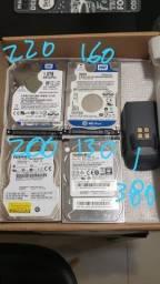 HDS DE 1TB e 500 gb