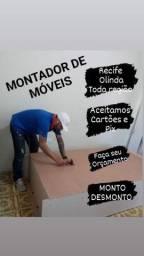 MONTADOR DE MÓVEIS EM RECIFE