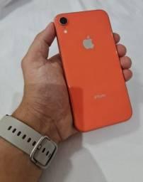 Iphone XR coral ( Vitrine) 64GB 93% bateria
