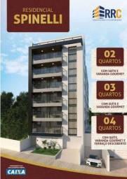 Apartamento com 2 dormitórios à venda, 74 m² por R$ 325.000,00 - Bairu - Juiz de Fora/MG