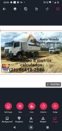 Caminhão 8 metros ( materiais )