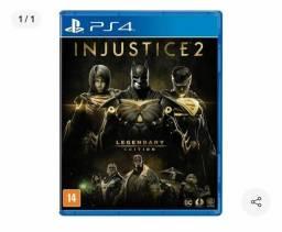 Injustice lendary edition ps4 mídia física