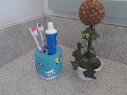 Porta Escova de Dentes Pirata - Infantil