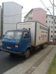 Frete e mudança caminhão grande 7 metros de comprimento o baú ZAP *